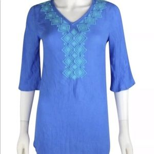 Lilly Pulitzer For Target Bluebell Tunic Top,